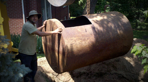 The work of oil tank services NY